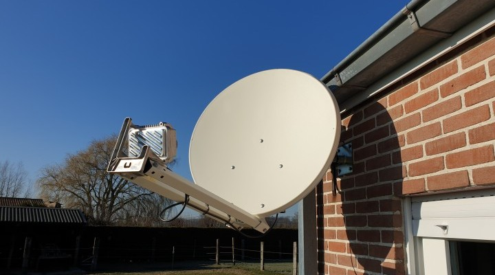 Installation offerte pour l internet par satellite