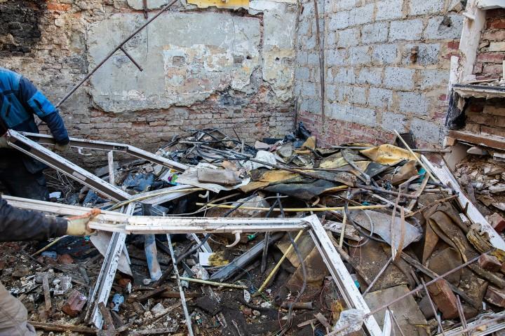 Nettoyage de chantier et évacuation des déchets