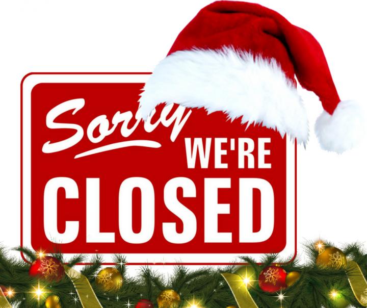 Nous serons fermé du 24/12 au 08/01 par Dapsens - Soyer