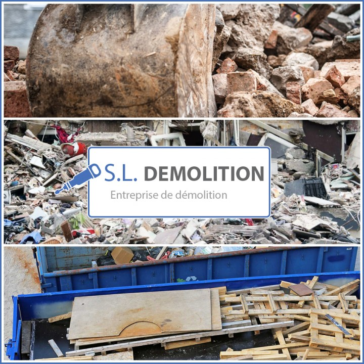 Démolition, évacuation des déchets
