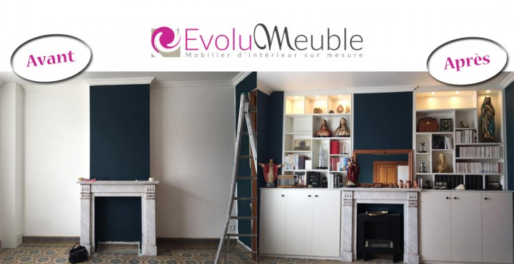 comment allier ancien et moderne par evolumeuble. Black Bedroom Furniture Sets. Home Design Ideas
