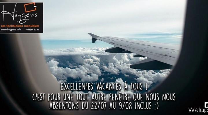 Vacances 2019