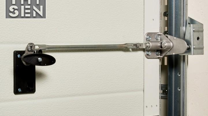 Portes sectionnelles sécurisées