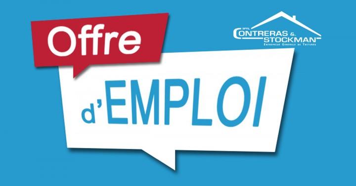 Offre d'emploi - Couvreur / Zingueur
