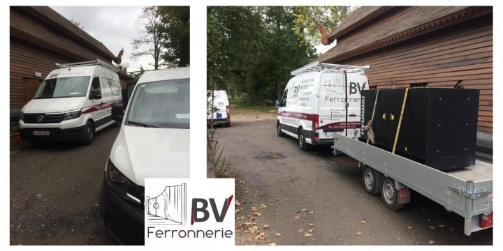 Nouveaux véhicules pour BV Ferronnerie