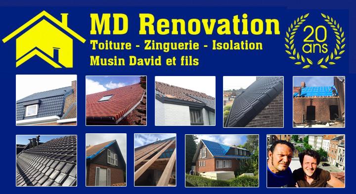 Plus jamais d'infiltration avec MD Renovation !