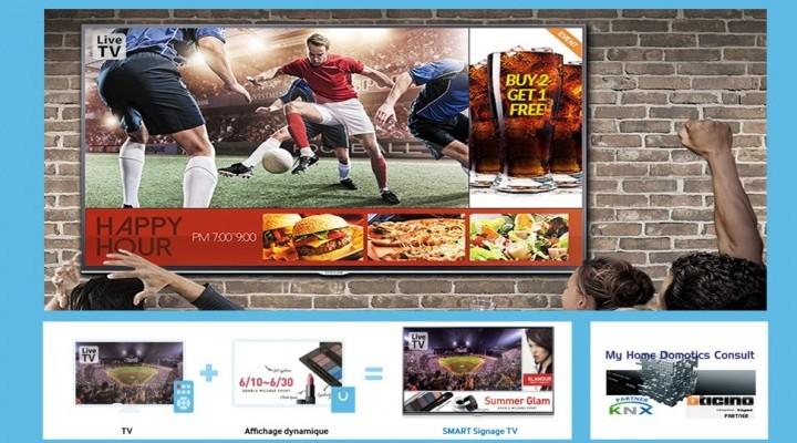 Connaissez-vous la Samsung Smart Signage TV  ?