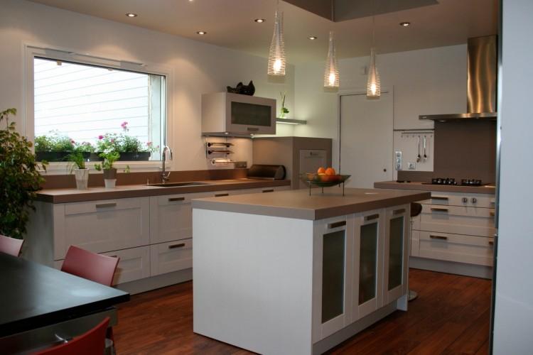 Choisir son plan de travail cuisine photos de conception for Bien dans sa cuisine