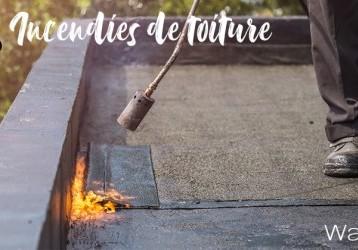 Vous faites poser une toiture plate ? Attention aux incendies !