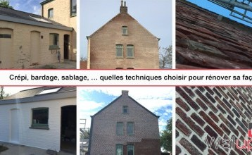 Crépi, bardage, sablage,… quelle technique pour rénover sa façade?