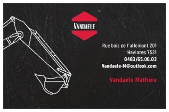 Terrassement Vandaele