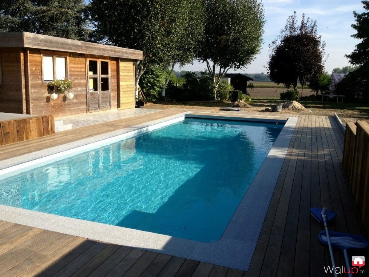 Piscine finition par pool conception sprl Conception piscine