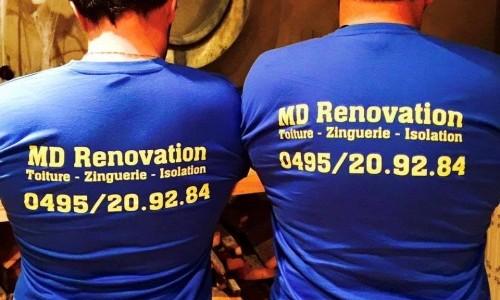 Photos des r alisations de md renovation for Tuiles vieillies