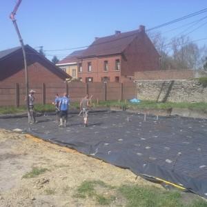 Construction maison à Pommeroeul
