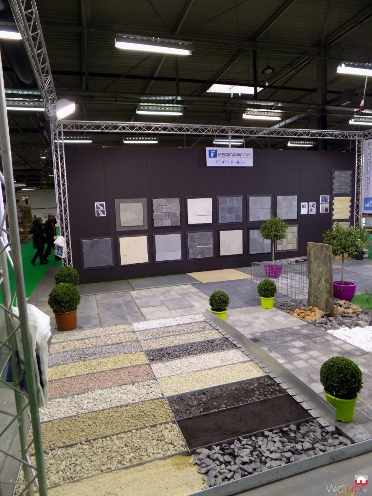 Stand francenne d co jardin tournai par francenne for Deco jardin tournai 2015