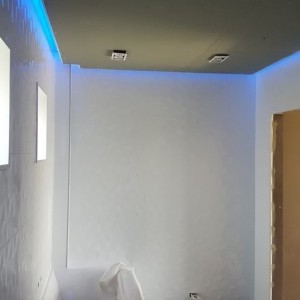 Eclairage intérieur et plafond décoratif