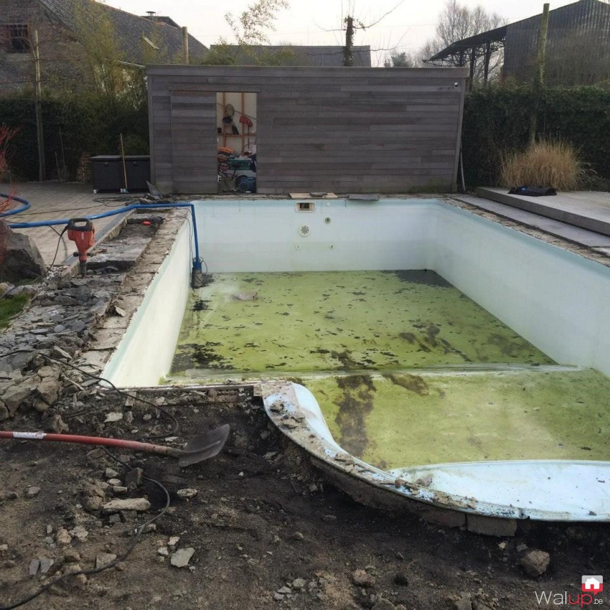 R novation piscine terrasse par pool conception sprl for Renovation piscine
