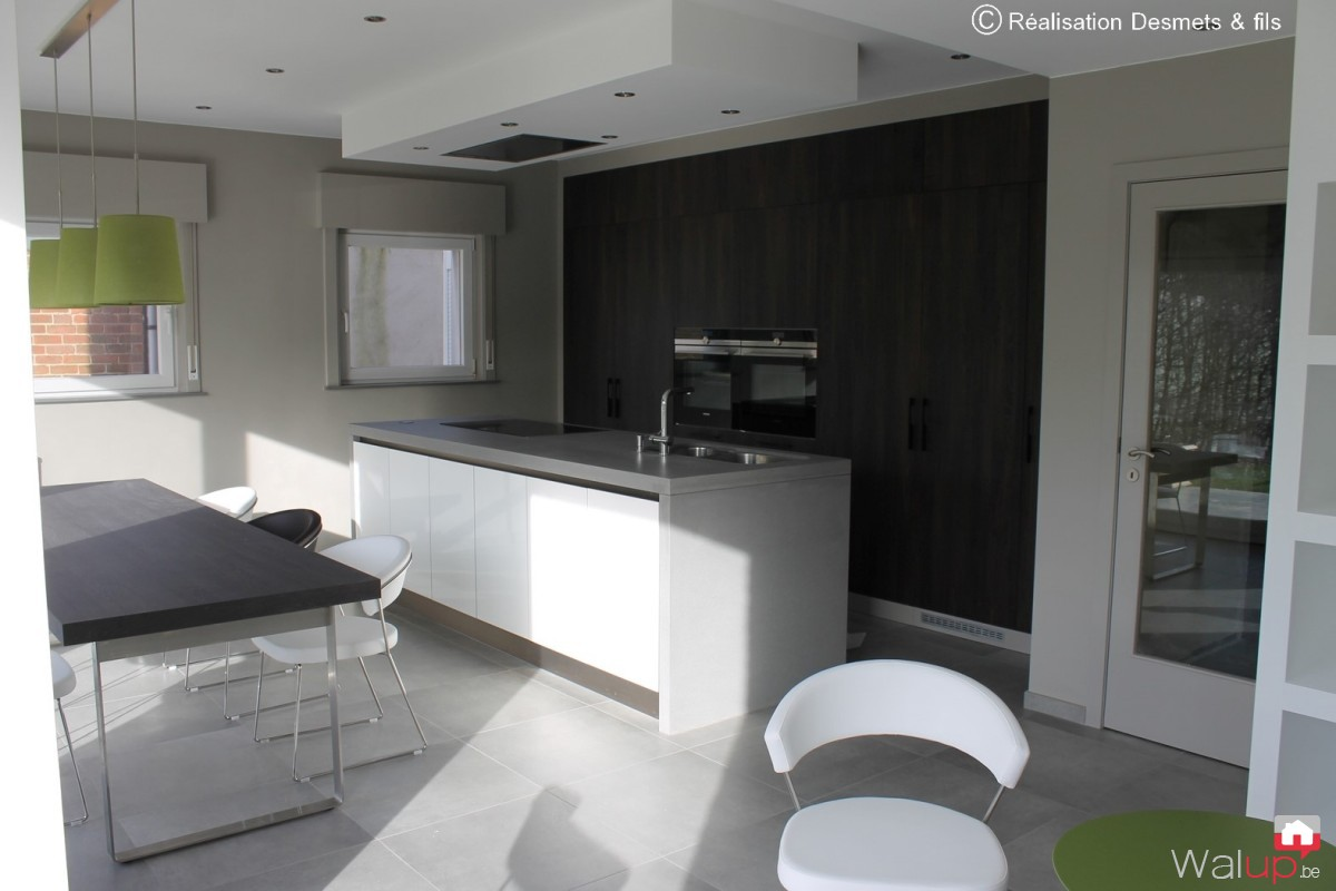 Amenagement sejour cuisine maison design - Amenagement sejour ...