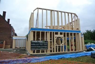 Nouvelle construction en ossature bois