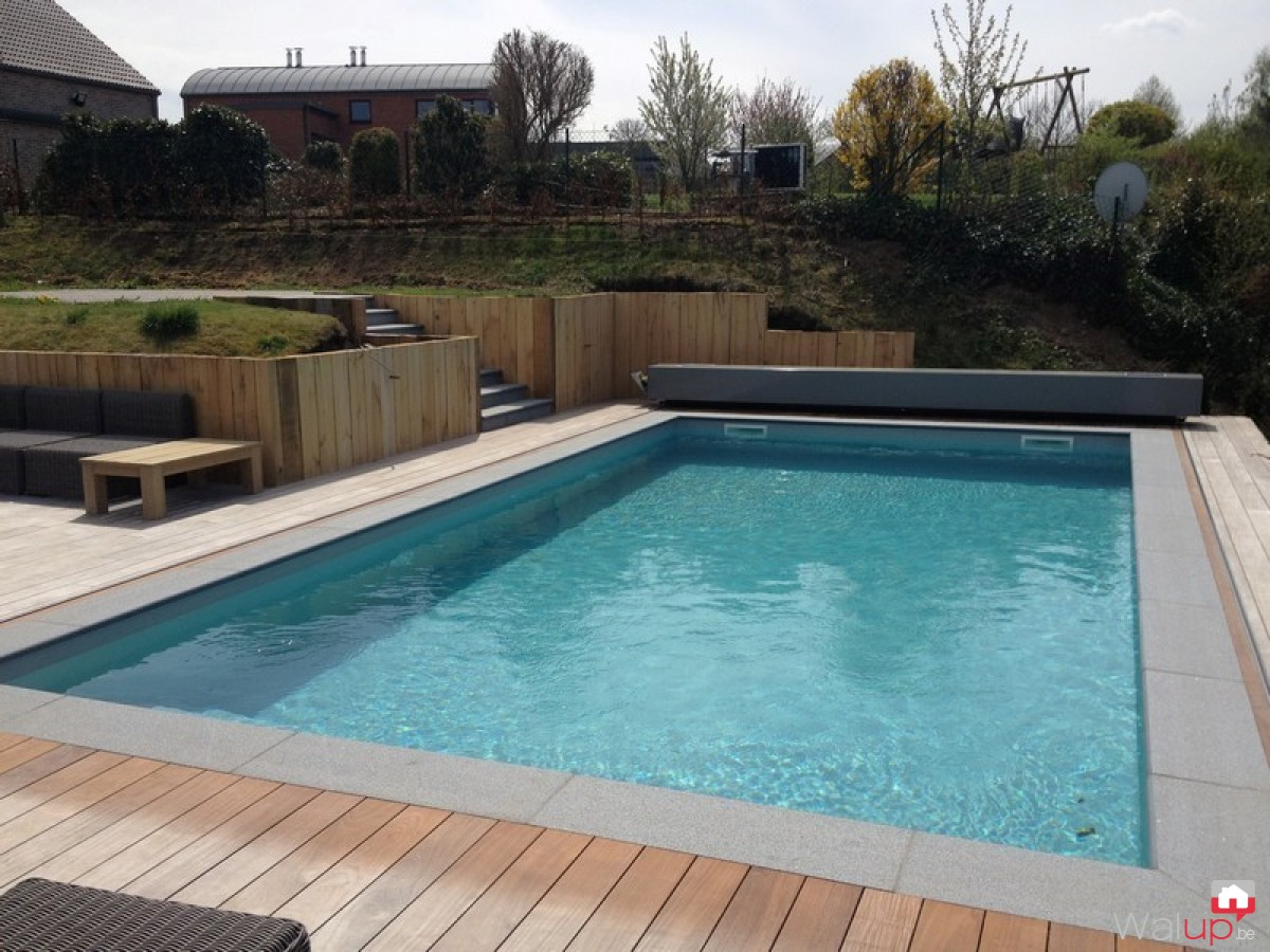Construction d 39 une piscine namur par pool conception sprl Conception piscine