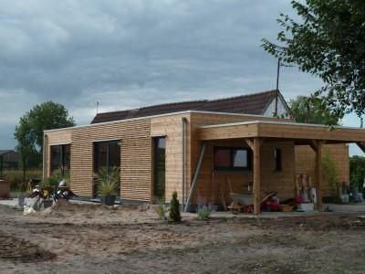 Extension maison à Blandain