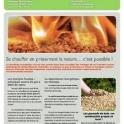 Chauffage aux pellets