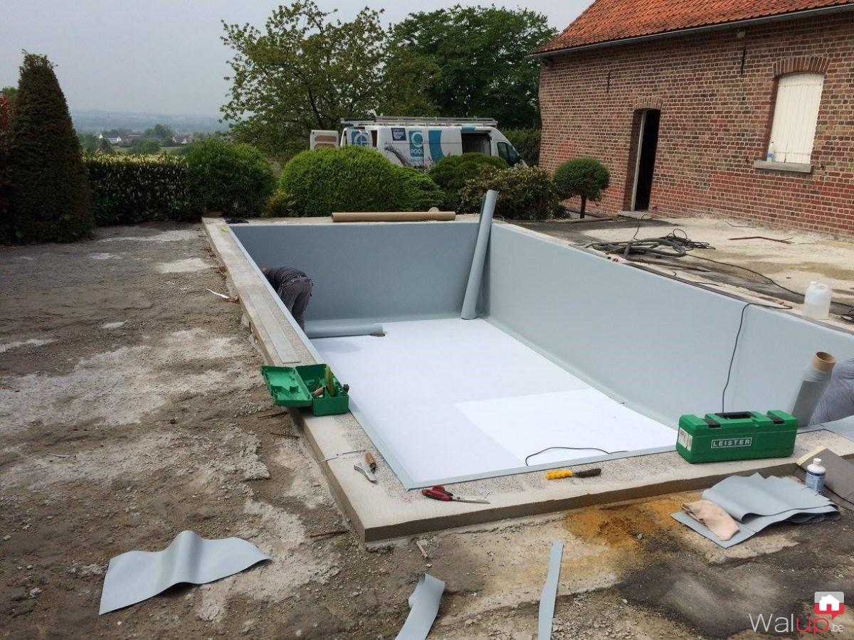R novation piscine tournai par pool conception sprl for Renovation piscine