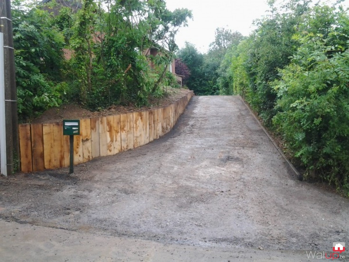 Mur de r tention par van tieghem terrassement - Terrassement bassin de retention ...
