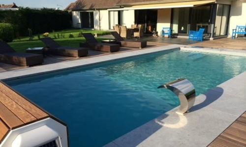 Photos des r alisations de pool conception sprl for Prix piscine 10x4