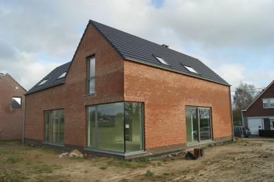 Maison destinée à être peinte
