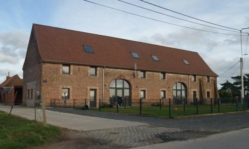 Transformation d'une grange en appartements