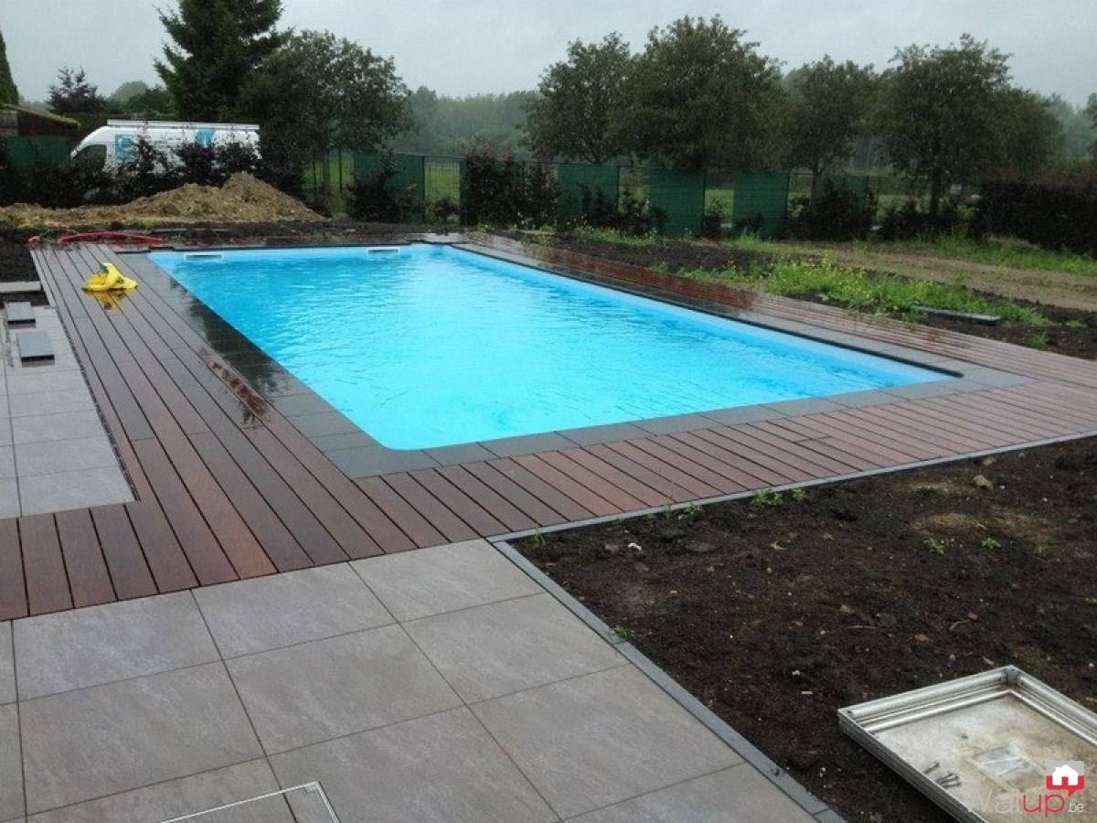 Piscine p ruwelz par pool conception sprl Conception piscine