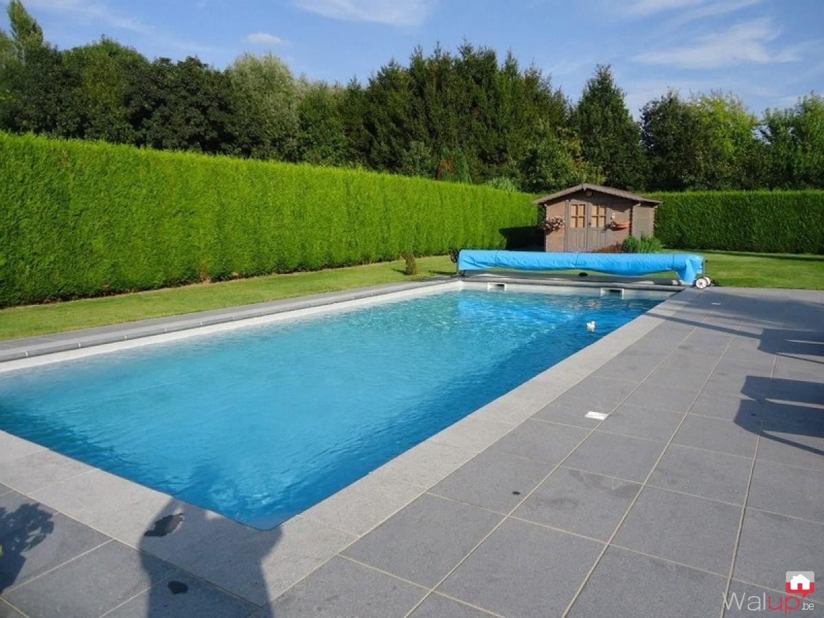 Piscine maubray par pool conception sprl for Conception piscine