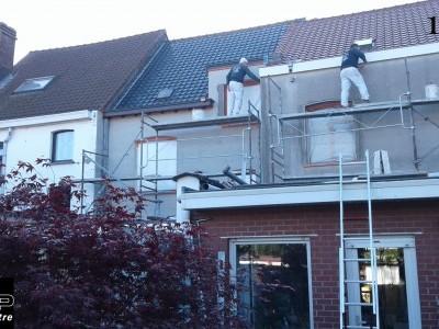 Réalisation sur 3 maisons juxtaposées