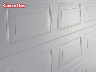 Les designs de votre porte sectionnelle
