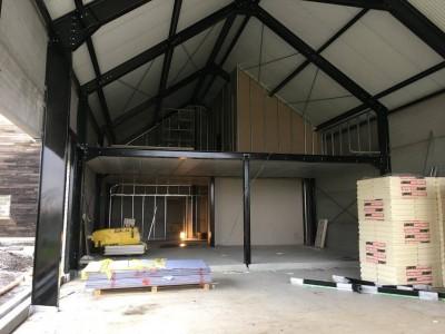 Construction de notre nouveau Show Room, on avance :)