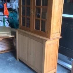 Un bel avant / après sur ces meubles en chênes d'exception !