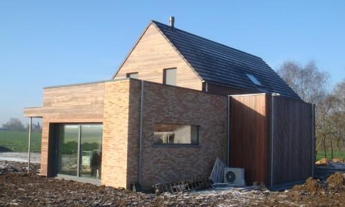 Maison unifamiliale basse énergie en ossature bois