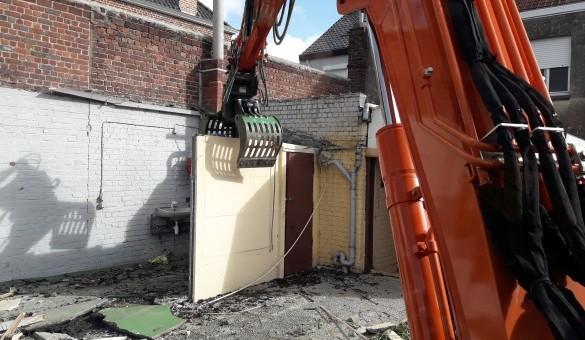 démolition et fondation pour extention