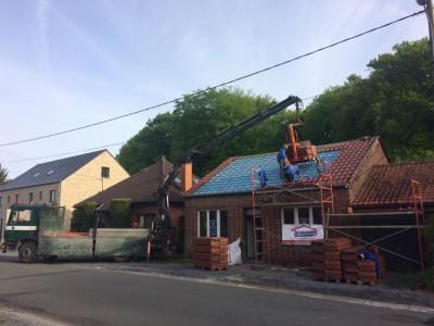 Rénovation d'une toiture
