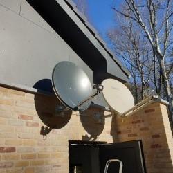 Installation pour internet et tv par satellite
