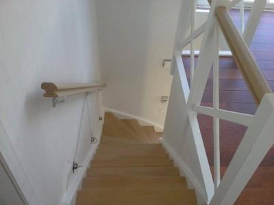 Escalier quartier tournant