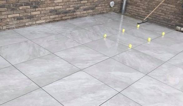 Terrasse en cours