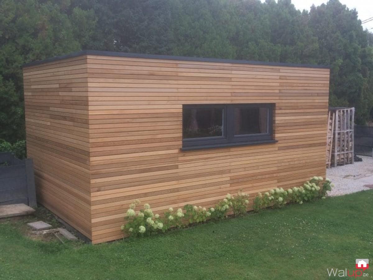 Construction garage ossature bois toit plat - Autoconstruction garage ossature bois ...