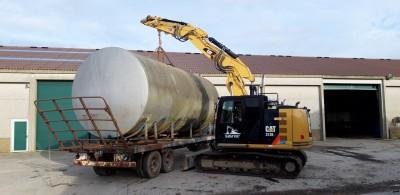 Transport de container, location et manutention