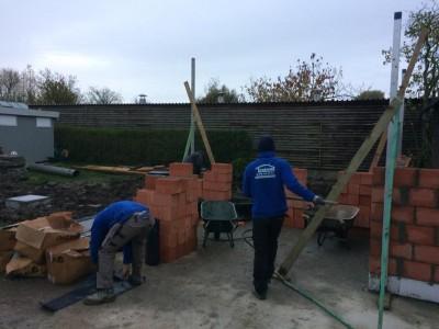 Construction d'une annexe