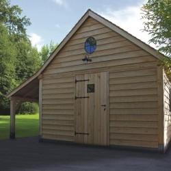 Cottage en chêne décoration