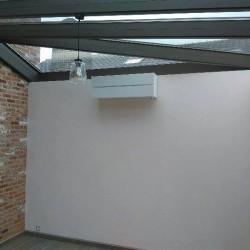 Installation d'une pompe à chaleur dans une véranda