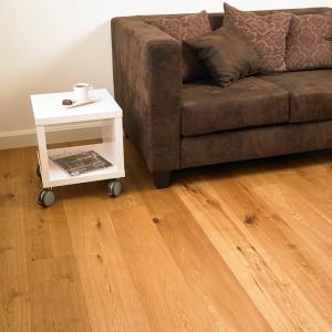 Un parquet Lalegno - Un plancher chaleureux