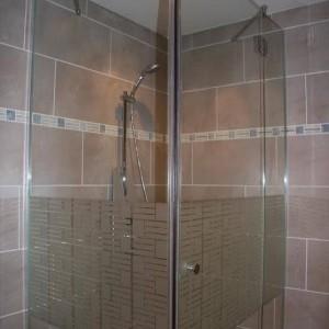 Exemples parois de douche